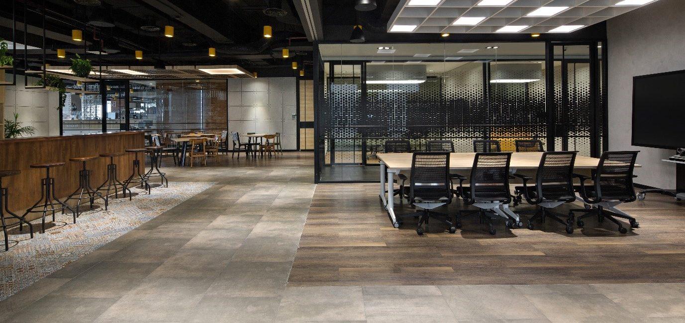 Lantai vinyl flooring Indonesia