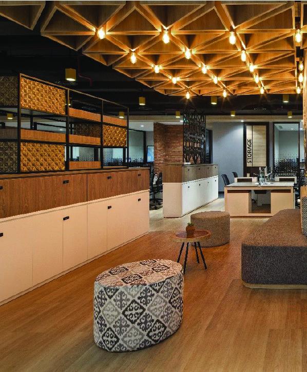 Lantai vinyl flooring kayu Indonesia